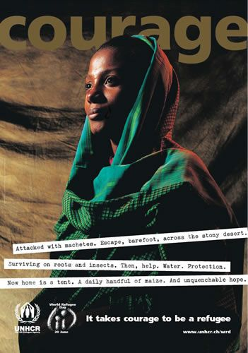 Beautiful poster from UNHCR