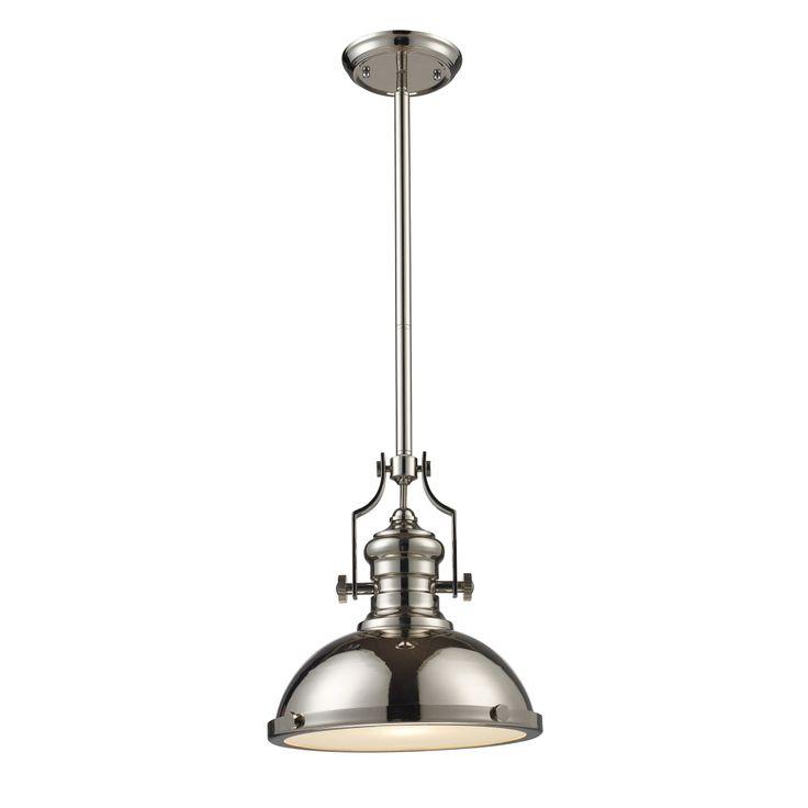 elk lighting landmark lighting chadwick 1light pendant in