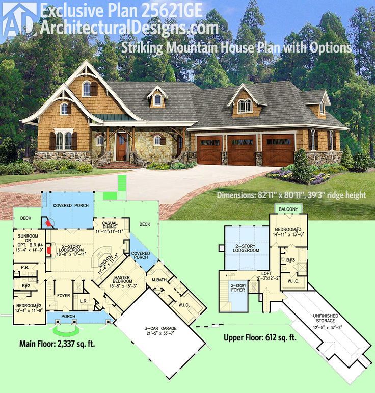 Mountain Craftsman House Plans: 115 Best Craftsman House Plans Images On Pinterest