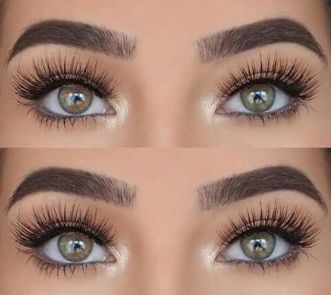 """Laura Badura is wearing Lilly Lashes in style """"Diamonds"""" from the Luxury Collection"""