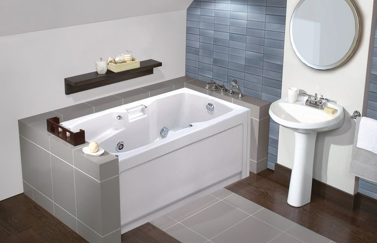 Camano Alcove or Drop-in bathtub - MAAX Professional