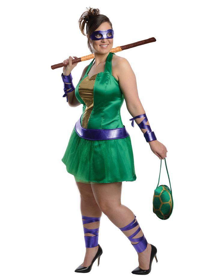 Ninja Turtle Womens Halloween Costumes