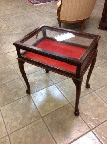 Vintage Side Table Display Lot 273 Br Unknown 162912 Tamporline Pinterest