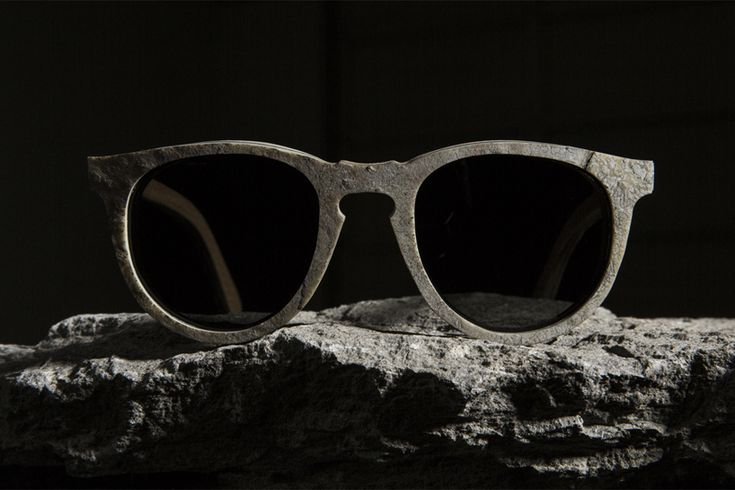 Slate stone and wooden glasses collection by Shwood Eyewear