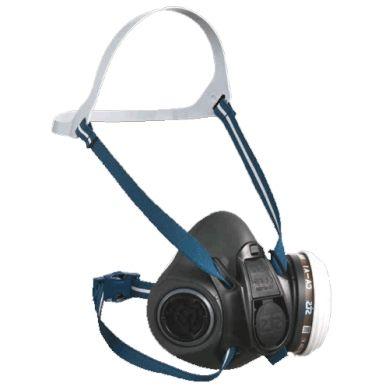 Halbmaske RS01 zum Atemschutz Effektiver und komfortabler Schutz gegen Partikel, Dämpfe und Gase     Die Halbmaske RS01 von sts bietet Schutz gegen Dämpfe (Lösemittel), Gase und Partikel (Stäube) bei Arbeiten in der Werkstatt oder am Tatort