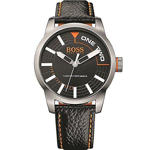 BOSS Orange Herren-Armbanduhr TOKYO Analog Quarz Leder 1513214 - http://autowerkzeugekaufen.de/boss/boss-orange-herren-armbanduhr-analog-quarz-one-2
