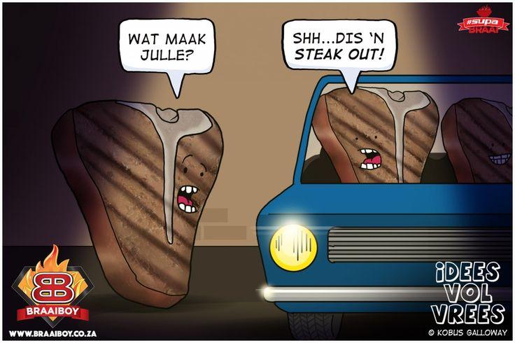"""Steak Out"", Braai Humour – #FridayFunny"