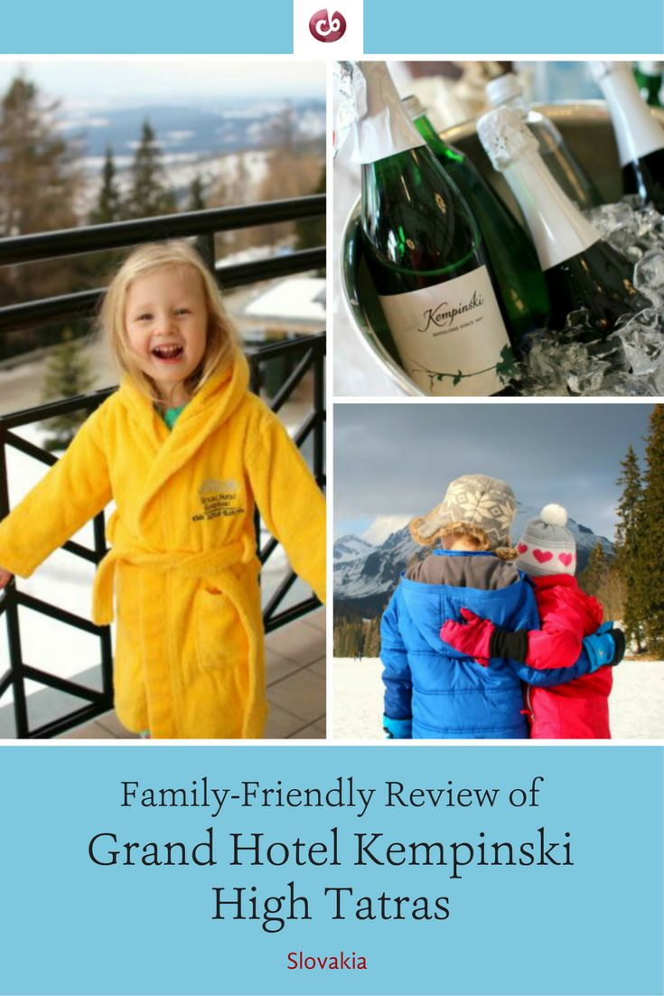 Review and Highlights of Grand Hotel Kempinski High Tatras, Slovakia with Kids