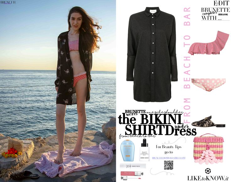#5 Outfits to Wear From Beach to Bar | Brunette from Wall Street