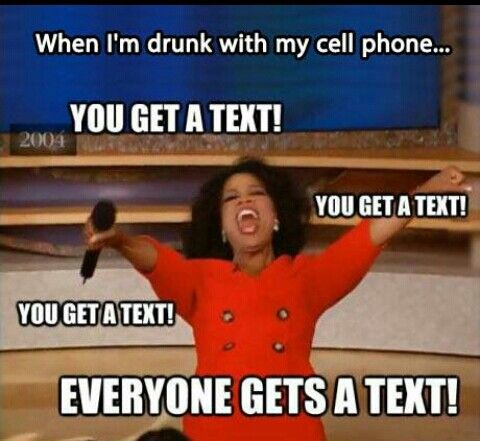 How it usually goes down around drunk white girld