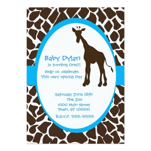 1788 best Baby Boy 1st Birthday Party Invitations images on - best of invitation card for new zoo