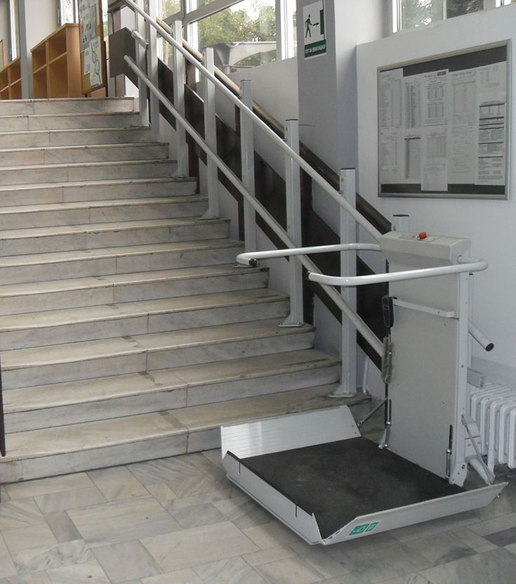 S7 Sr Inclined Platform Stair Lift Gt Straight Staircase