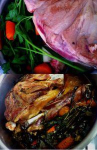 Lamb Shoulder - set and forget Roast