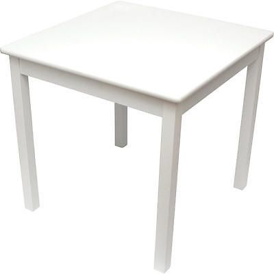 Play Tables and Chairs 66743: Lipper International Child S Table- White -> BUY IT NOW ONLY: $49.99 on eBay!