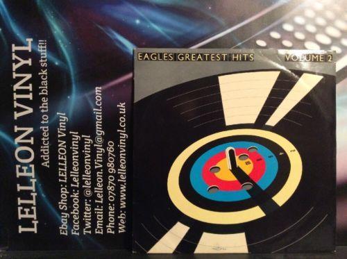 Eagles Greatest Hits Volume 2 LP Album Vinyl Record 960205-1 A2/B1 Rock 80's Music:Records:Albums/ LPs:Rock:Progressive