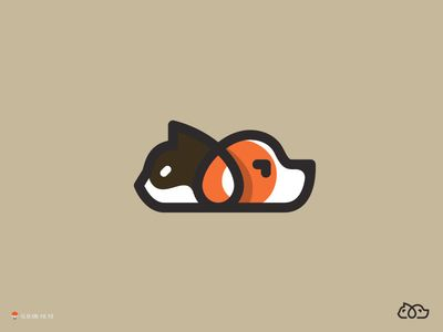 Cat And Dog by George Bokhua on Dribbble.com