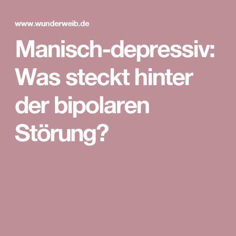Manisch-depressiv: Was steckt hinter der bipolaren Störung?