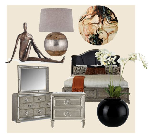 """""""Cozy bedroom"""" by oana-grigorie on Polyvore featuring interior, interiors, interior design, home, home decor, interior decorating, Danya B and bedroom"""