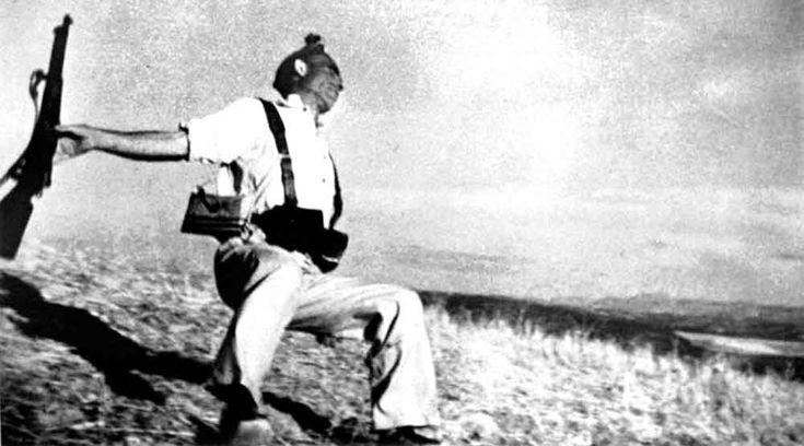 Guerra Civil española. 25 de abril. George Orwell: Homenaje a Cataluña