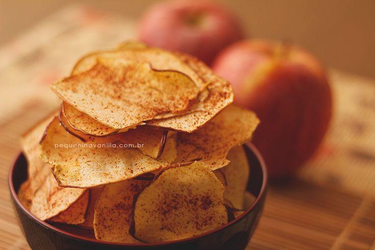 Chips de maçã no forno || Pequenina Vanilla