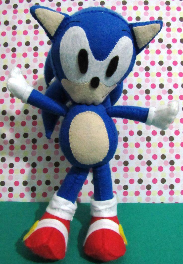 Sonic em Feltro
