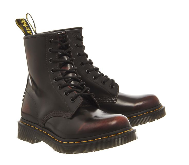 Recommend Fashion Style Cheap Price Office Dr. Martens 8 Eyelet Lace Up Boots CHERRY ARCADIA Discount Nicekicks Quality Free Shipping Low Price Outlet Clearance iPvsuJOZL