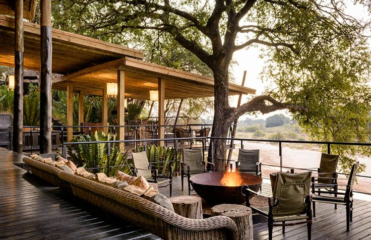 Cécile & Boyd for Singita Ebony Lodge