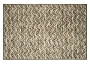 Change the look in your living area with the Abdiel Blue/Beige Medium Rug.