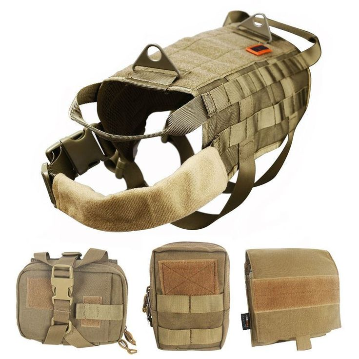 OneTigris Military Dog Hunting Vest with Detachable Pouches - $77.99 – Opovoo®