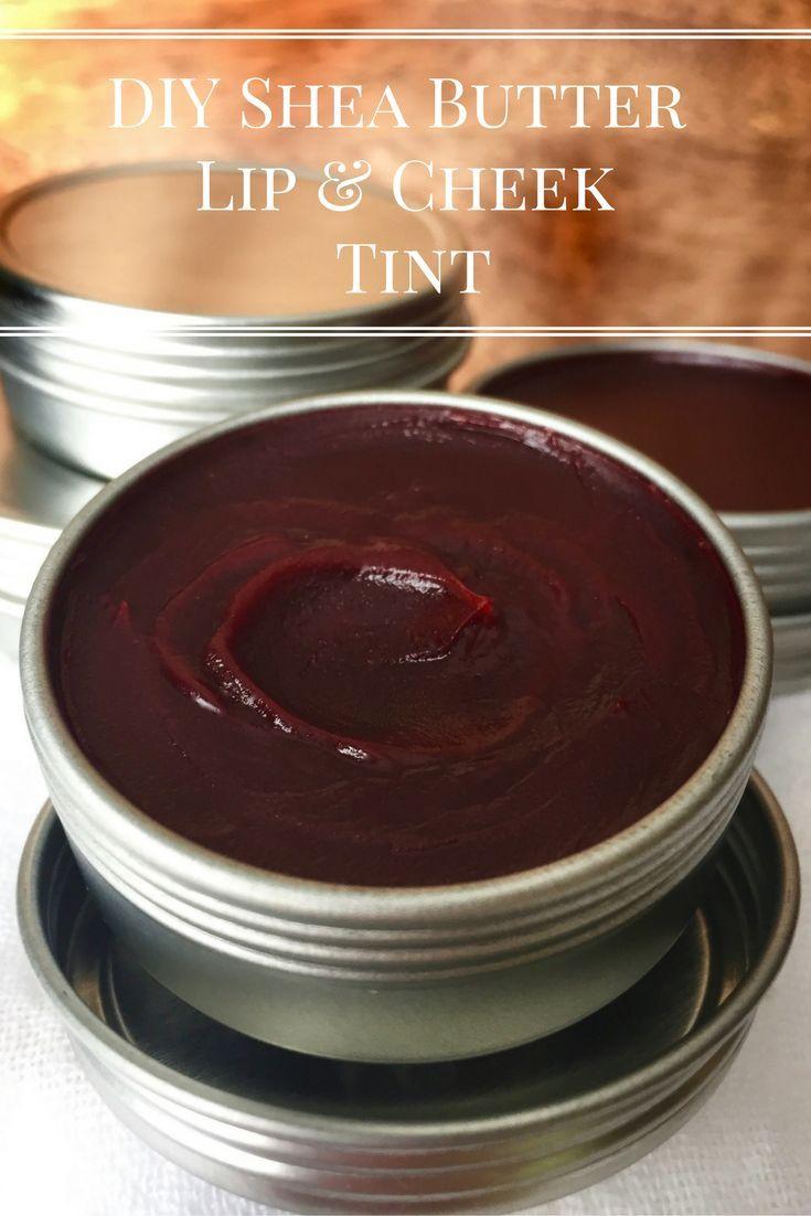 DIY Shea Butter Lip & Cheek Tint