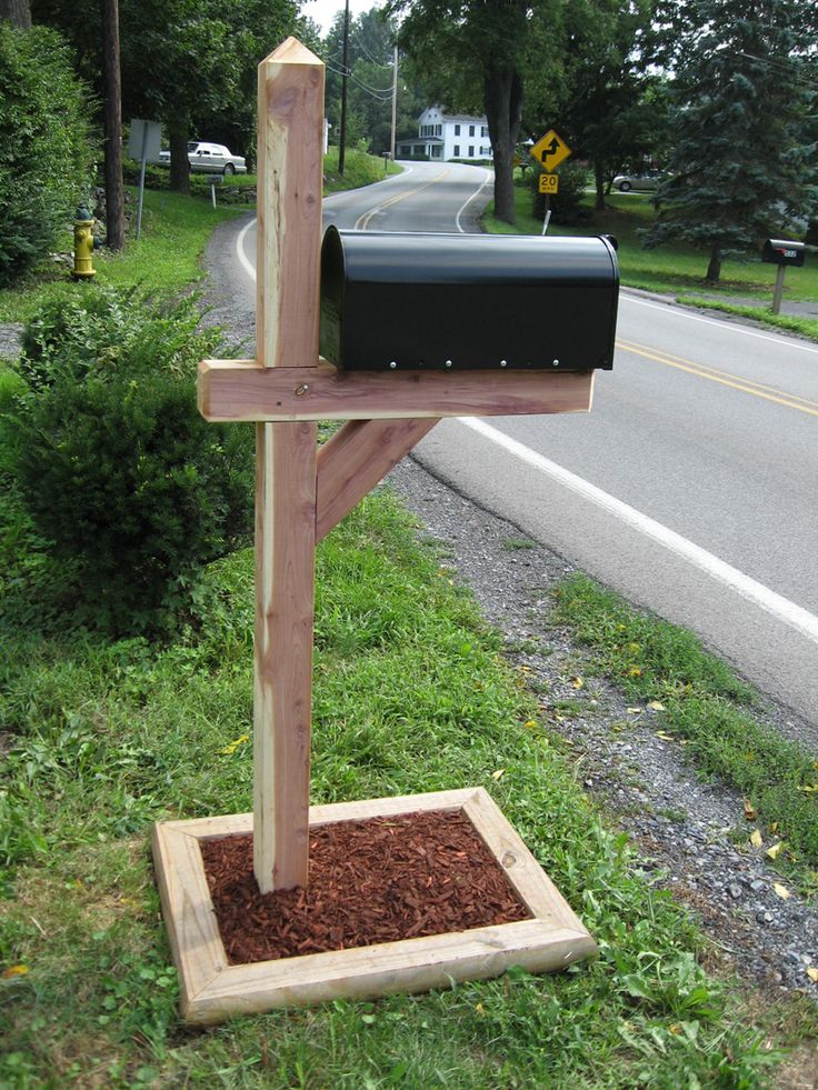 Furniture Mailbox Decorations With Wood As The Main Material For Its Manufacture Various Creative Ideas For Mailbox Decorations