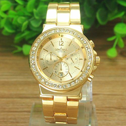 Zlaté hodinky Contella