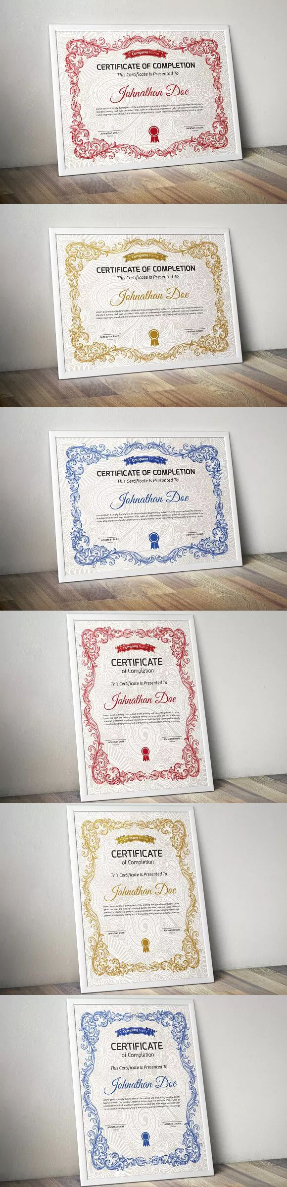 34 best certificate templates images on pinterest certificate certificate template eps yadclub Choice Image