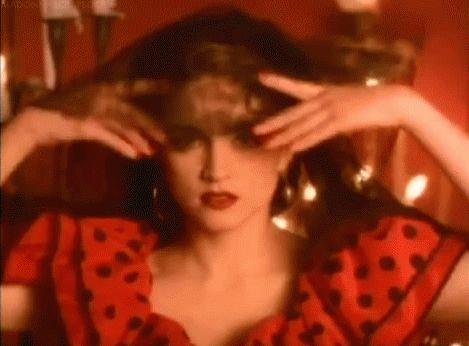 Madonna La Isla Bonita outtake footage directed by Mary Lambert (1987)