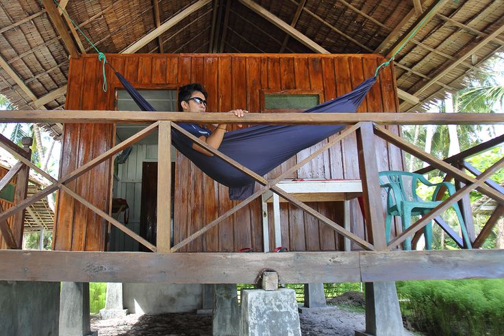 Mama Silvi's Cottages on Asu Island, off the coast of Nias Island, Indonesia. Great place to chill in a hammock for a week or two.