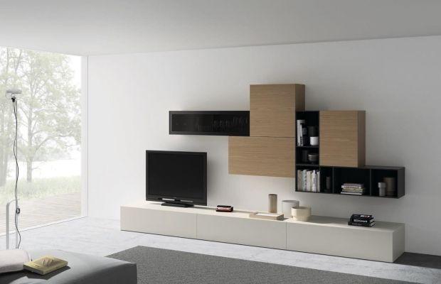 Salones mueble salon con vitrina colgada ref sal04 mobelinde muebles a medida barcelona - Fabrica muebles barcelona ...