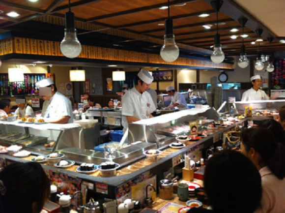 Who loves revolving sushi? Only families, couples, and solo diners (so, just abouteveryone)