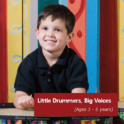 Little Drummers, Big Voices   Armstrong Community Music School   Ages 3 – 5 years   $23 per 45-min class