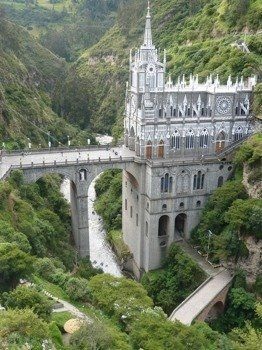 Las Lajas Cathefral in Colombia