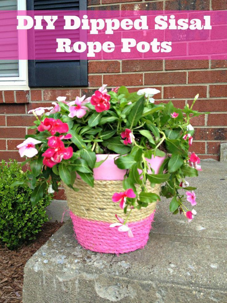 1000 Images About Diy Flower Pots Planters On Pinterest 400 x 300