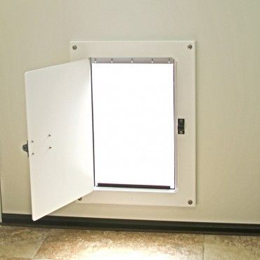 Watchdog Steel Security Pet Door Cover Locking Dog Door