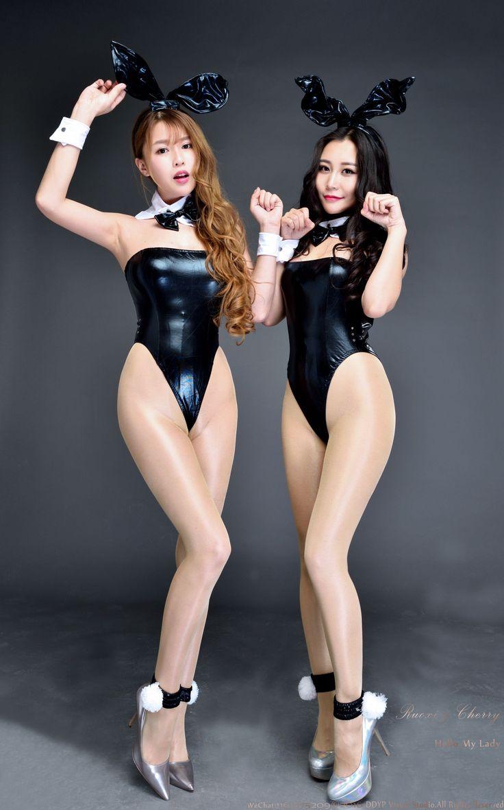 [DDY Pantyhose] No.021 若兮&张茜茹 - 棚拍高叉亮丝系列_第5页/第4张图