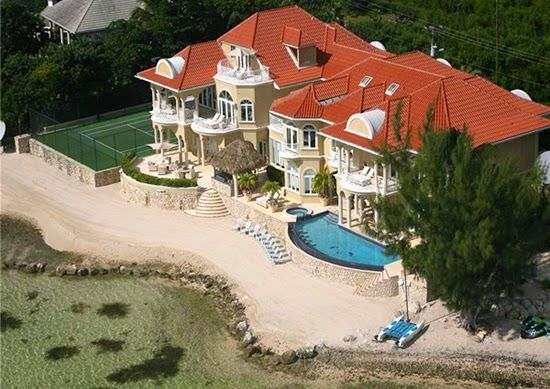 17 best images about luxury caribbean beachfront homes on for Luxury beachfront property for sale