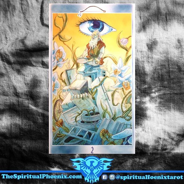 Today's Shaman Tarot Card!  2 of Bows ( 2 of Swords)  Preparation - Daily reality enters into conflict with your own desires.  Indecision, a momentary truce.  If viewed as the 2 of Swords.  II of Swords:  Swords: The element of Air; The intellect and decisions  Swords/Air: I think - The Mind  Twos: Partnerships, balance, and division  Key Meanings: Time to think and a stalemate  The Two of Swords shows thinking time before a decision.  A situation has reached a stalemate, so you can view…