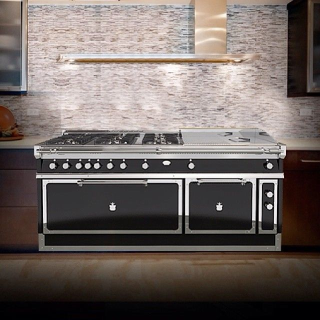 Double Oven Six Professional Grade Gas Burners And A