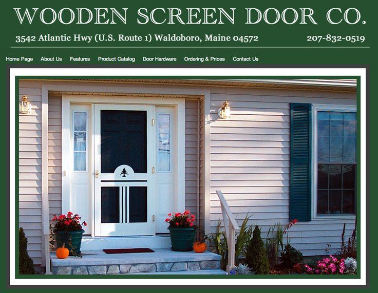 wooden screen door co 2