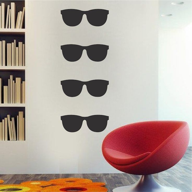 Delicieux Sunglasses Wall Decal   Modern Wall Decal Murals   Primedecals