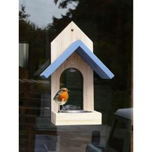 Wildlife World Garden Bird Window Feeder  Wildlife World Garden Bird Window Feeder An attractive and colourful window feeder which simply sticks to the outside of any convenient window.