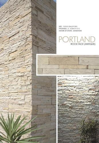 Designer's Image Rock Face Real Stone Veneer - 4 Sq. Ft.