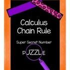 In this super secret number puzzle, students work with the chain rule. Students need to know how to find the derivative using the chain rule, how ...